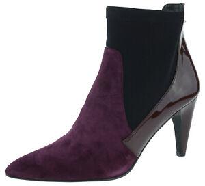 Heine 155480 Ankle Boots schwarz bordeaux EUR 41