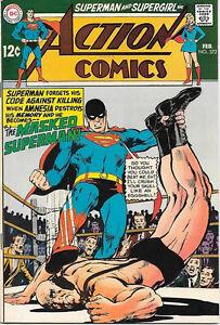 Action-Comics-Comic-Book-372-Superman-DC-Comics-1969-FINE-VERY-FINE