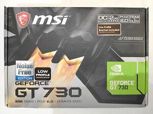 Carte Graphique MSI NVIDIA GeForce GT 730 2Go fanless