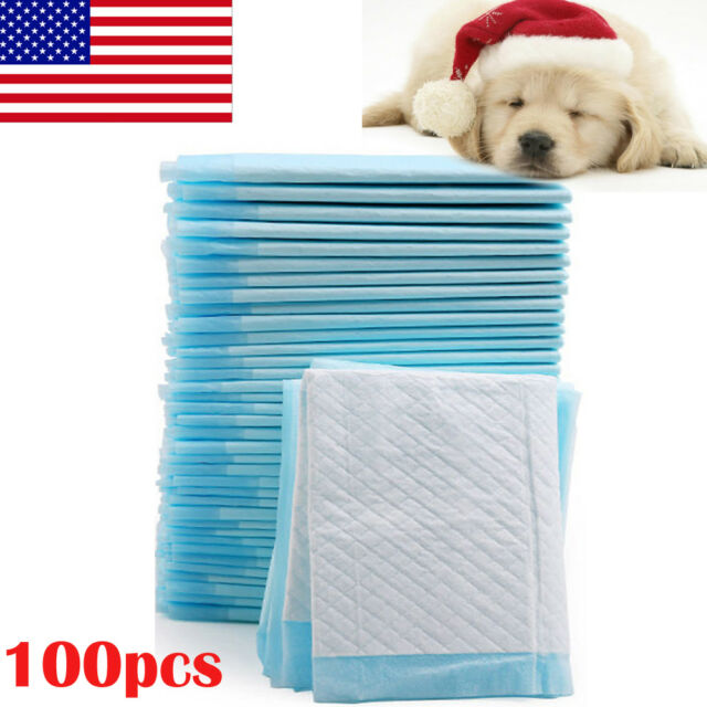Pet Puppy Training Pee Pad Dog Cat Disposable Absorbent Odor Reducing Mat Diaper
