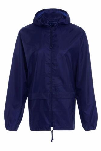 Kinder Jungen Mädchen Windjacke Licht Regenjacke Mantel mit Kapuze Pac A Mac