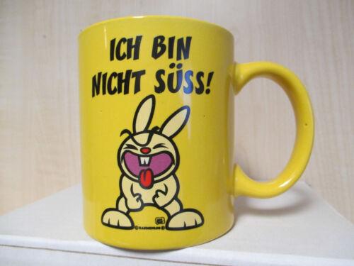 """Crazy Fun Tasse mit Druck /""""Ich bin nicht süss/"""" Kaffeetasse Kaffeebecher Becher"""
