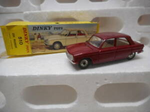 Dinky Toys France 1/43 Peugeot 204 Rouge Cod. 510