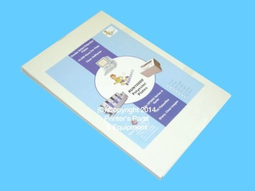 Offset Printing Supplies 100 per box Laser Polyester Plate 13″x19 7//8″