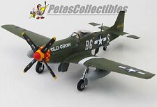 HOBBY MASTER HA7729B BUD ANDERSON OLD CROW NON-SIGNED EDITION P-51D Mustang 48TH