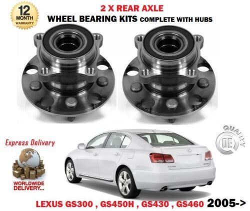 FOR LEXUS GS300 GS430 GS450H GS460 2005-2011 2X REAR WHEEL BEARING HUB ASSEMBLY