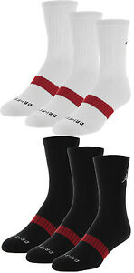 nike air jordan dri fit crew socks 3 pack