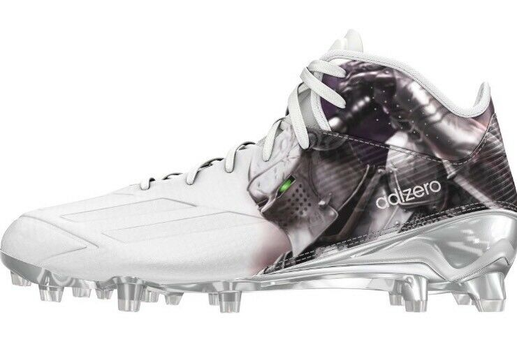 Adidas Adizero 5-Star 5.0 UNCAGED Football Cleats Knight Mid Uni AQ7813 SIZE 8.5