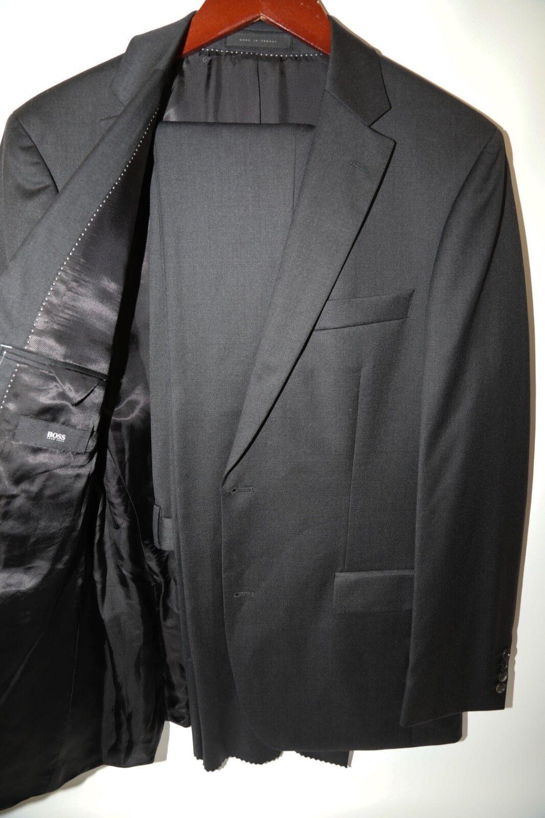 131 Hugo Boss Pasolini Movie US grau Suit Größe 40 L   Super 100