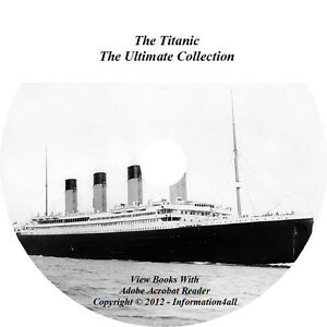 The-Titanic-Ultimate-Collection-11-Books-1-Audio-Book-1-Video-on-CD-DVD