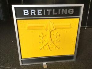 Offen Breitling Display Exquisite Traditionelle Stickkunst Juwelier- & Uhrmacherbedarf Aufsteller & Werbedisplays