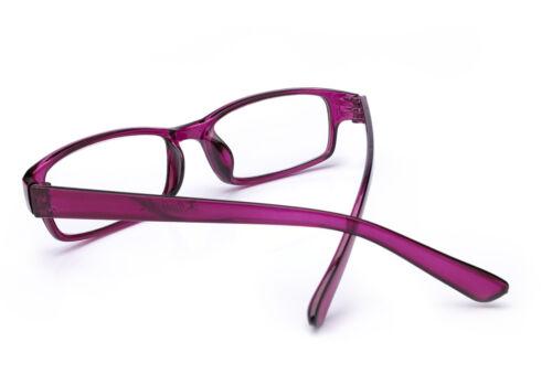 Slim Reading Glasses  form 0.00 to  4.00 Unisex Trendy Designer Spring Geek