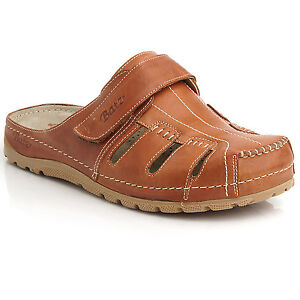 Mens Tan Slip On Beach Shoes