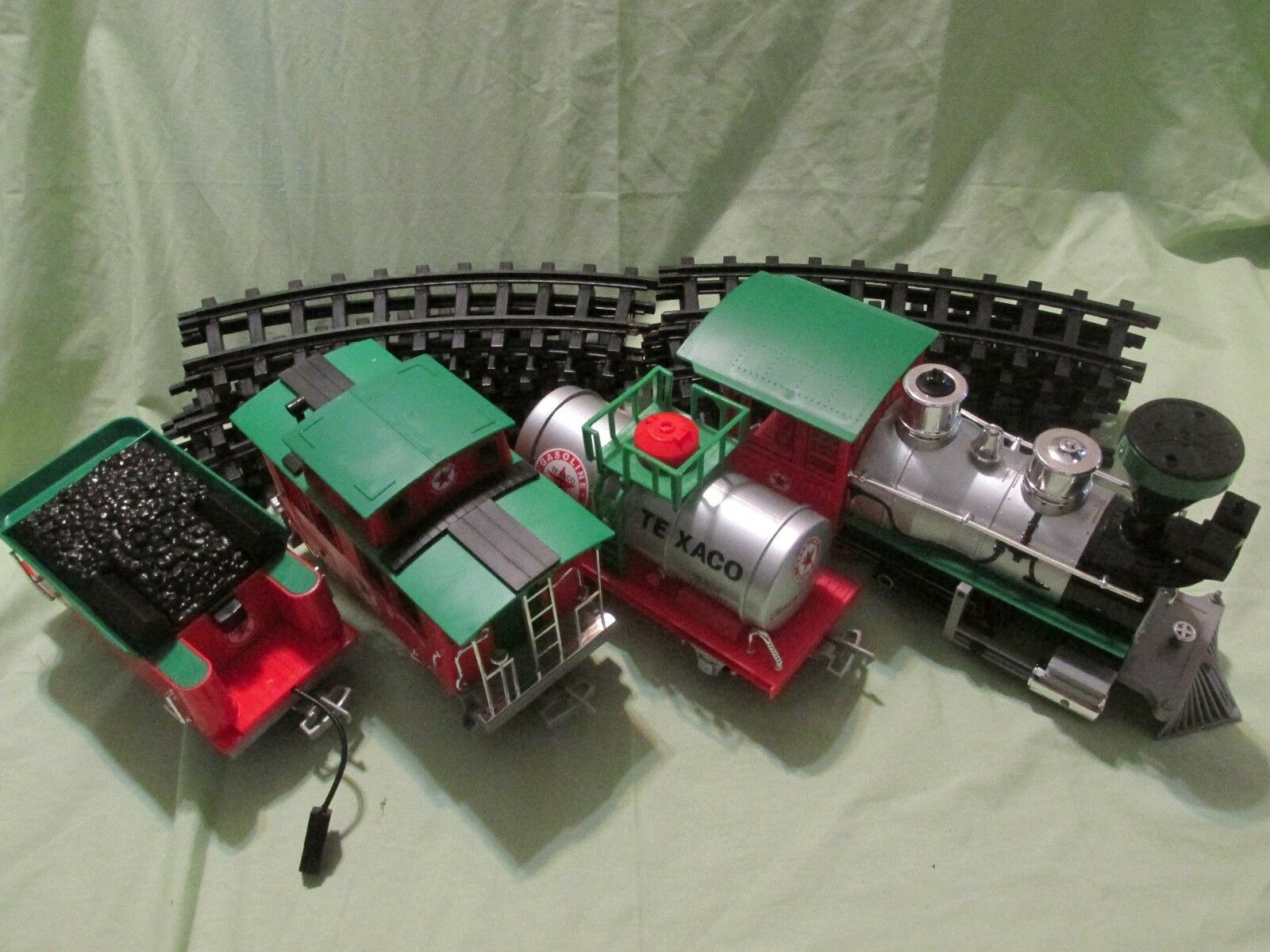 Texaco Natale Set Treno a Batteria Holiday 2-6-0 Vapore 4m di Pista