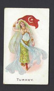 WILLS-O-039-SEAS-FLAG-GIRLS-OF-ALL-NATIONS-TURKEY