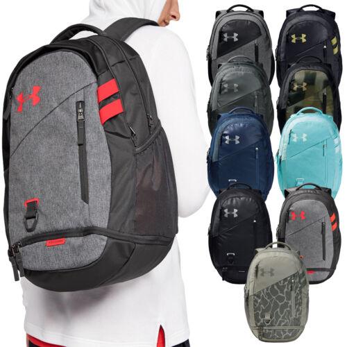 2020 Under Armour Unisex Hustle 4.0 Backpack School College Rucksack Travel Bag