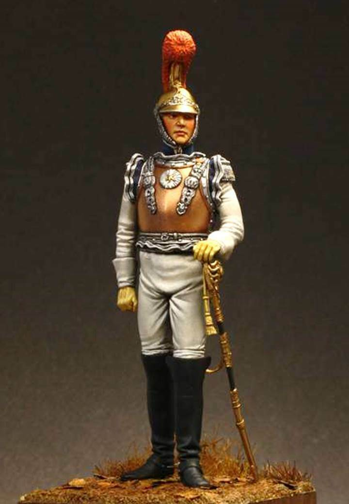 Atelier Maket F. Lariboisiere Carabiner Officer 75mm Model Unpainted Metal Kit