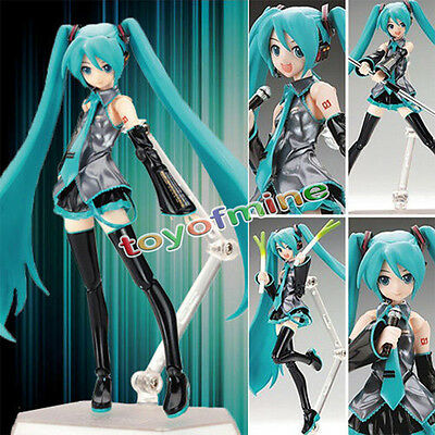 New Figma Vocaloid Miku Hatsune Nendoroid Max Factory Action Figure