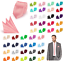 Cravate-Pochette-set-Haute-Qualite-Mariage-busniess-Messieurs-BINDER-Cravate miniature 1
