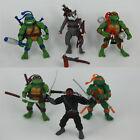 12cm 6 Piezas/Set Tortugas Ninja Figura Colección Juguetes
