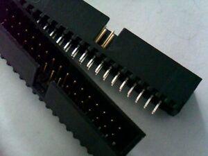 KEL DH34 IDC socket 34pin PCB RM2.54 Lot-10pcs