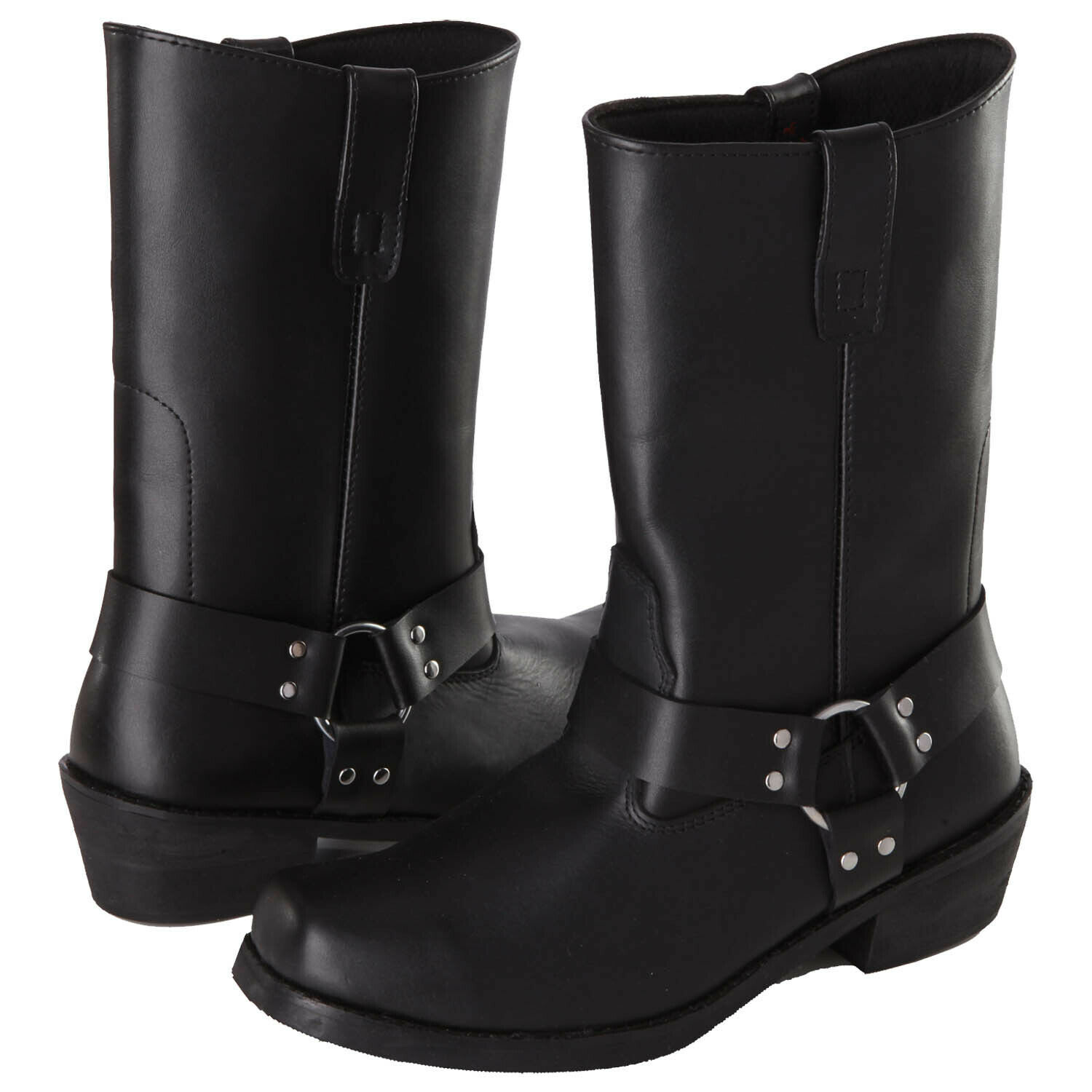 Modeka Chopper Dry Motorcycle Boots Leather - Black