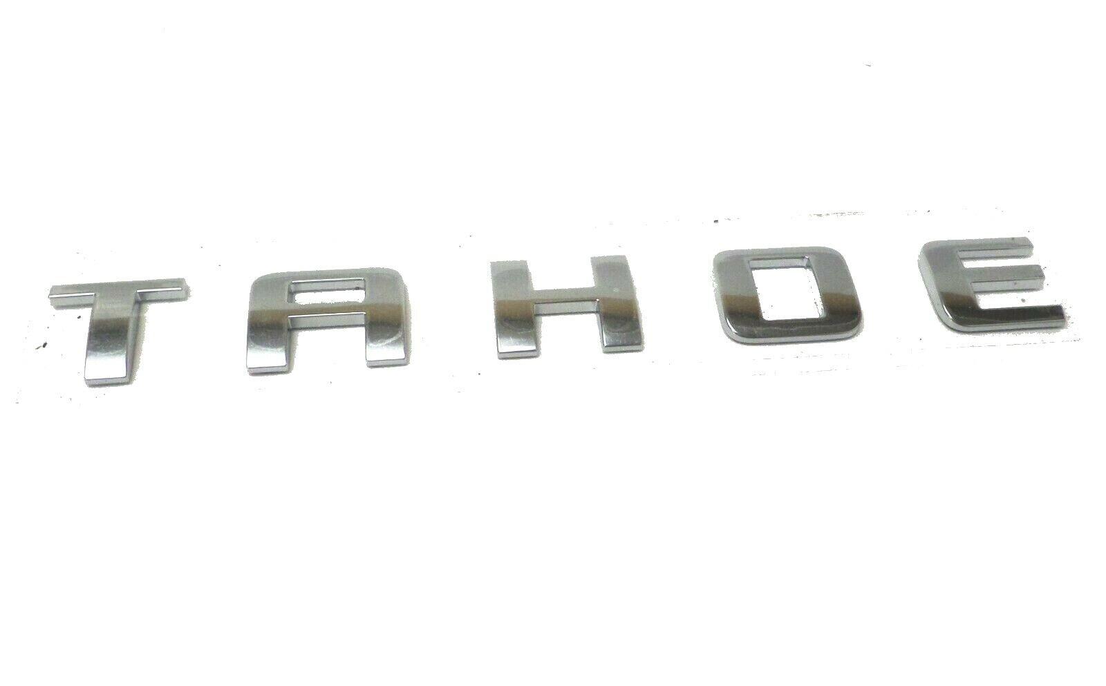 Red OEM TAHOE LT Emblem Badge Nameplate Letter for GM Chevrolet  NEW n WU