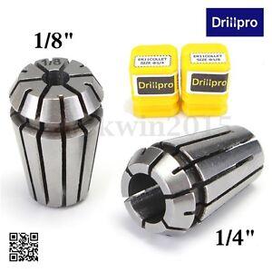 """2* ER11 1//4/"""" 1//8/"""" Inch Spring Collet For CNC Milling Lathe Tool Parts Set Kit"""