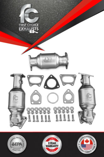 Fits 2006 2007 2008 Honda Ridgeline Catalytic Converter Set D//S P//S /& Rear 3.5L