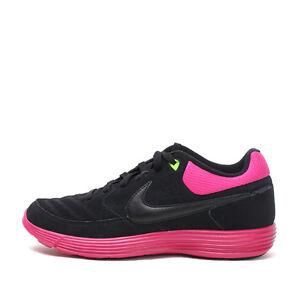 Scarpe Nike pelle Taglie Nsw 5 da Gato 6 5 nera 7 7 uk Lunar scamosciata in ginnastica rosa rCrwU0qg