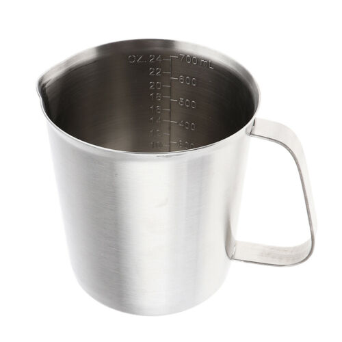 Stainless Steel Wax Melting Pouring Pitcher Pots For DIY Candle Soap Making