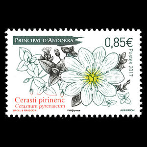"""Mnh Distinctive For Its Traditional Properties Flora """"flowers"""" Adaptable Andorra 2017"""