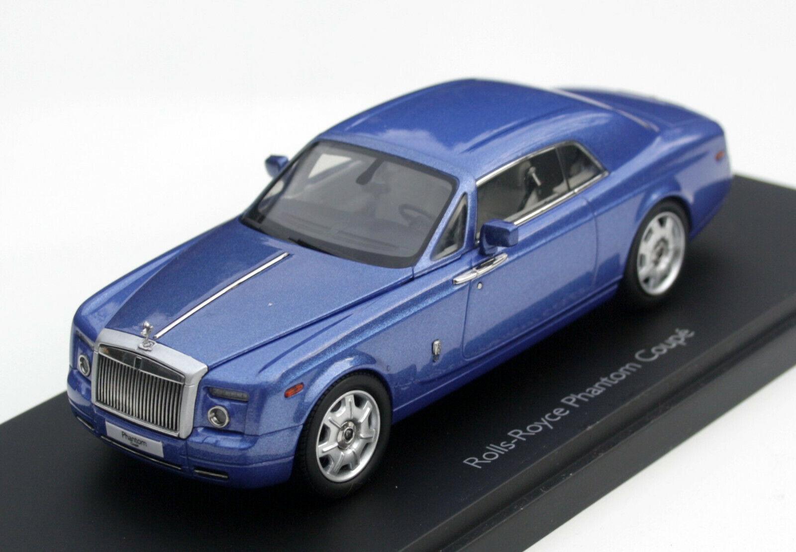 Rolls-Royce Phantom Coupé Bj. 2008-2016, bleumet., de haute qualité Kyosho-Mod. 1 43