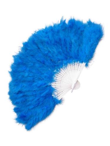 Federfächer Marabu passend zu Kostüm edel Fasching Fächer Karneval