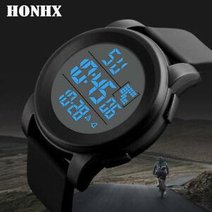 Digital Watches Luxury Men Analog Digital Military Army Sport Led Waterproof Wrist Watch Women Sport Watch Silicone Electronic Watch Waterproof