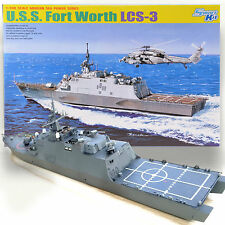 DRAGON 1/700 USS FORT WORTH LCS-3 FREEDOM CLASS currently in the South China Sea