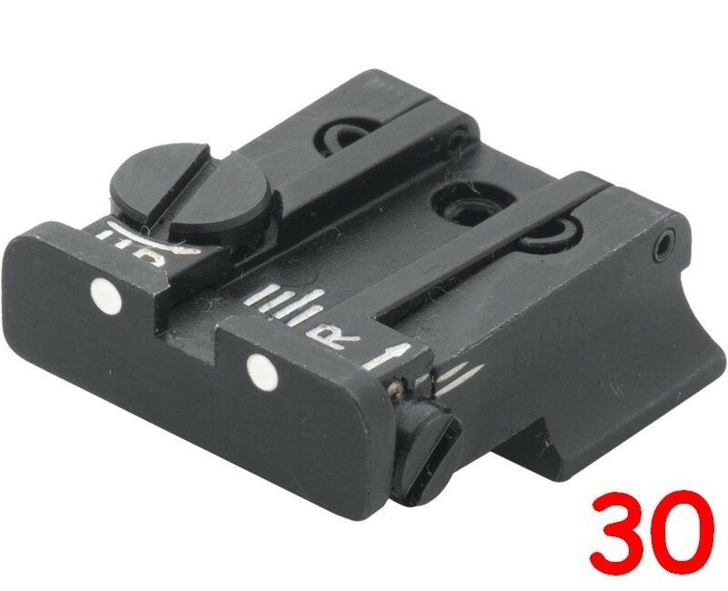 LPA rear sight for S&W SW99, Walther P99, P99, P99, PPQ, PPQM2 (NO Cal. 22) 931265