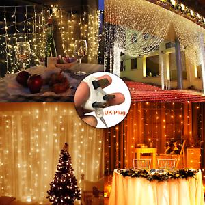 3 M DEL Fairy String rideau de fenêtre Lights Christmas Xmas Party Imperméable decor