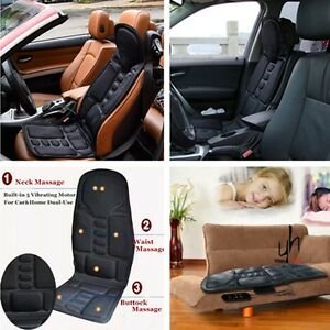 Universal DC 12V Portable Car Chair Massage Heat Seat Support