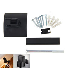 Black Metal Clamping Wall Mount Bracket Ceiling For Bose UB-20 Speakers