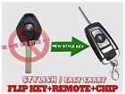 NEW F10 SMART FLIP KEY STYLE REMOTE FOR BMW VIRGIN CHIP TRANSPONDER FOB KFB2