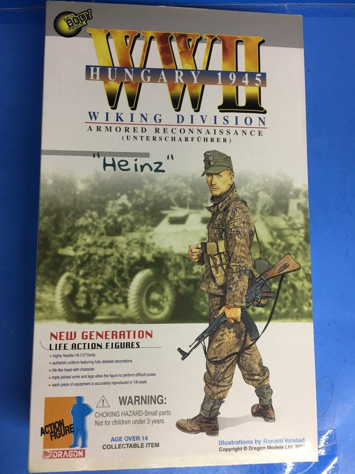 Dragon 1 6 Scale 12  WWII German LAH Panzergrenadier Heinz Schmidt New