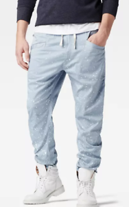 G-Star-Raw-Dadin-Jog-Pants-Ash-Blue-Mens-UK-W30-L30-REF15-11