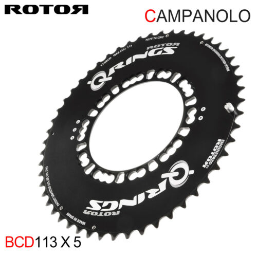 CLEARANCE ROTOR QRINGS Campagnolo 113BCD AERO Chainring set for Campy