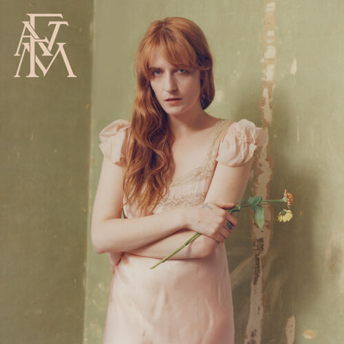 "Florence the Machine High as Hope Album Poster 32x32/"" 24x24/"" 18x18/"" 2018 Silk"