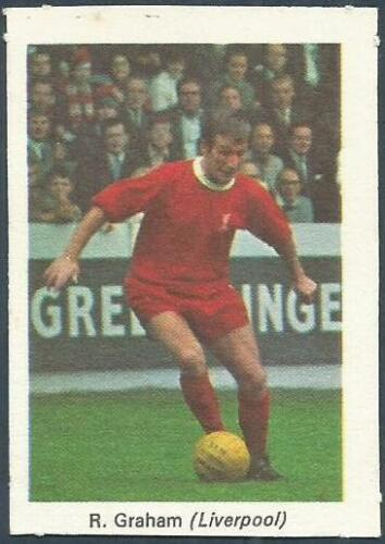 MY FAVOURITE SOCCER STARS 1970-SCORCHER #21-LIVERPOOL-BOBBY GRAHAM