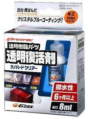 Soft99 Nano Hard Clear G'Zox Headlight and Clear Plastic Restoration Kit