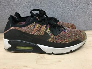 Details about Nike Air Max 90 Ultra 2.0 Flyknit Multicolor 875943 002 Men's Size 9.5