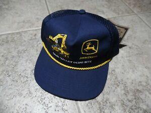 John Deere Coal Valley Demo Site Cap Snapback K Products Truckers Hat