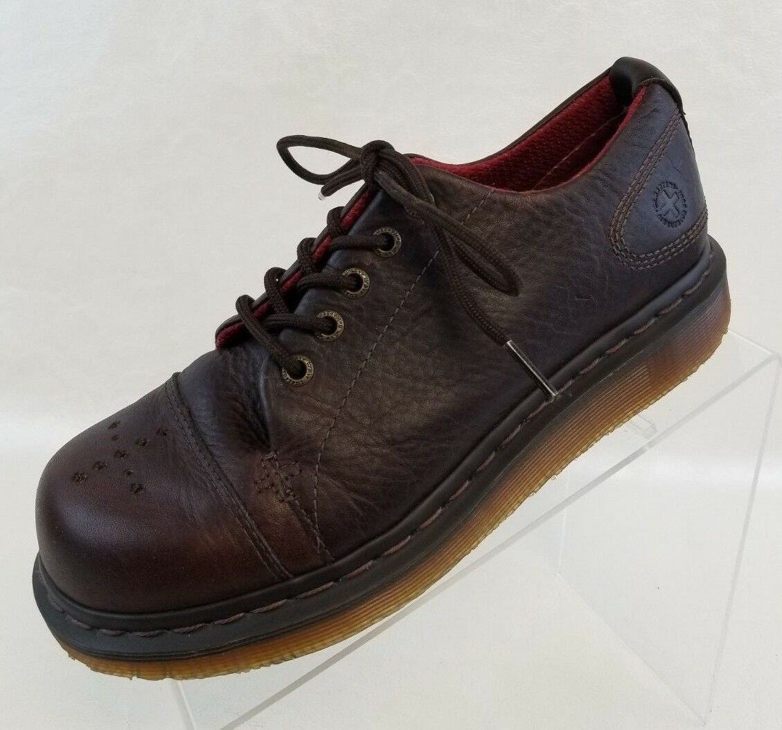 Dr Doc Martens Celia Oxfords Womens Brown Brown Brown Leather Lace Up shoes EU 39 US 8 NEW 7cdaab